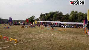 শাবিপ্রবি'র খেলার মাঠে বেসরকারি প্রতিষ্ঠান