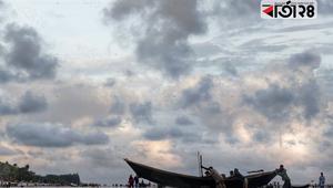 সাগরকন্যা খ্যাত কুয়াকাটা সমুদ্রসৈকতের মনোরম দৃশ্য