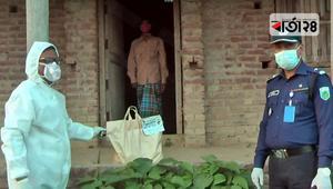 নাটোরে শিবচরের কৃষক সঙ্গরোধে, খাবার দিলেন সংসদ সদস্য