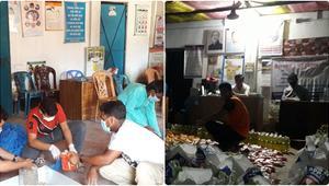 করোনা দুর্যোগে গড়ে ওঠা 'মানবিক মোহনগঞ্জ'