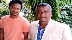 Shakib's house in Magura locked down