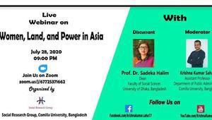 নারী-ভূমি ও ক্ষমতা: প্রেক্ষিত এশিয়া- ড. সাদেকা হালিম
