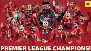 English Premier League title goes to Liverpool after 30 years
