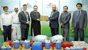 সোশ্যাল ইসলামী ব্যাংক কর্তৃক রিজেন্ট হাসপাতালকে চিকিৎসা সরঞ্জাম প্রদান