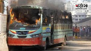 Six arsonists of the bus torching incidents identified