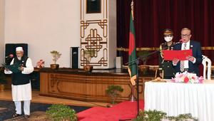 প্রতিমন্ত্রী হিসেবে শপথ নিলেন ফরিদুল হক খান দুলাল