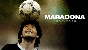 Football superstar Diego Maradona is no more!