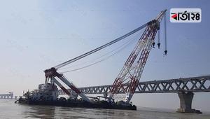 39th span of Padma Bridge will be set on Friday