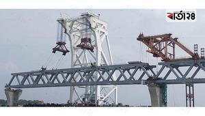 33rd span of Padma Bridge installed