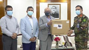 bKash provided 10 ventilators to Dhaka CMH
