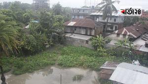 পটুয়াখালীতে গত ৪ বছরের সর্বোচ্চ বৃষ্টিপাত