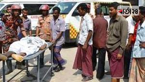 চাঁপাইনবাবগঞ্জে ট্রাকের ধাক্কায় মোটরসাইকেল চালকের মৃত্যু