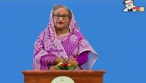 Sheikh Hasina urges global communities to resolve Rohingya problems
