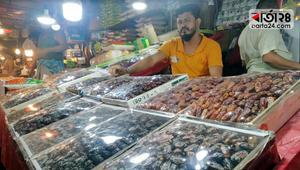 ব্যবসায়ীদের দাবি, 'এবার খেজুরের বাজার ভালো না'