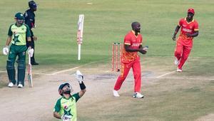 পাকিস্তানকে ৯৯ রানে উড়িয়ে জিতল জিম্বাবুয়ে
