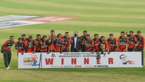Bangladesh blew up Australia in the last T20