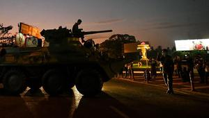 Armored vehicles on streets to suppress mass protests in Myanmar