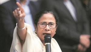 Mamata is ahead in Chief Minister's race in W. Bengal