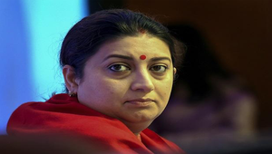 Smriti Irani named in Indian cabinet panel