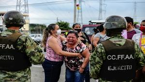 Death toll from prison riots in Ecuador climbs to 22