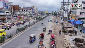 সাভারে মহাসড়ক ফাঁকা, আড্ডা পাড়া-মহল্লায়