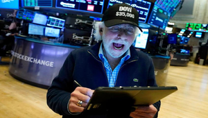 Dow closes above 35,000 for the first time