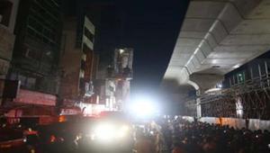 রাজধানীর গফুর টাওয়ারে আগুন, ৪০ মিনিটের চেষ্টায় নিয়ন্ত্রণে