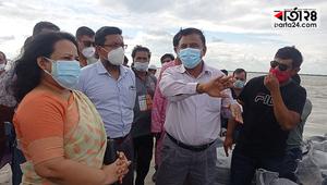 'ভাঙন প্রতিরোধ করেই রক্ষা করা হবে রাজবাড়ী শহর রক্ষা বাঁধ'