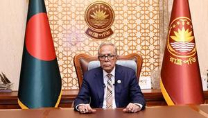 President reiterates his pledge to the formation of the state of Palestine