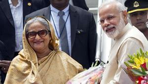 Modi wishes Sheikh Hasina on Yoga Day