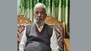 বাবা হারালেন সাংবাদিক নাজিম উদ্দিন খান