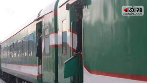 ২৬ মার্চ চালু হচ্ছে ঢাকা-জলপাইগুড়ি যাত্রীবাহী ট্রেন