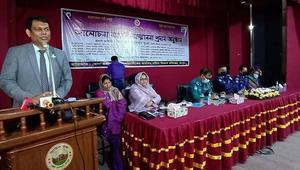 রংপুরে করোনাকালে নেতৃত্বদানকারী ১১ নারীকে সম্মাননা