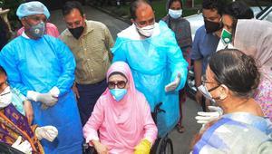 Khaleda Zia tests Corona negative