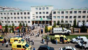 At least 11 killed in Russia school shooting