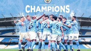 Man City clinches Premier League title