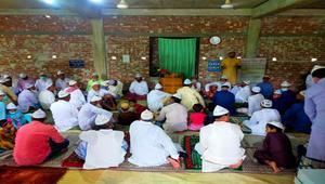 নোয়াখালীর তিন গ্রামে ঈদের নামাজ আদায়