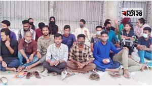 শিক্ষামন্ত্রীর আশ্বাসে শিথিল রবি'র শিক্ষার্থীদের আন্দোলন