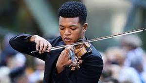 Violinist champions music by black composers