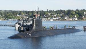 15 injured as US submarine collides with 'unknown object'