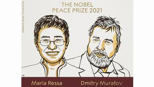 2 journalists win Nobel Peace Prize for fighting for freedom of expression