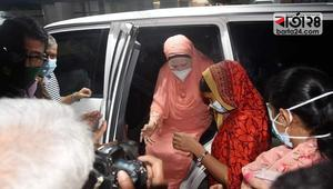 Khaleda admitted to Evercare Hospital for check up