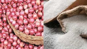 Duty on onion and sugar import is reduced