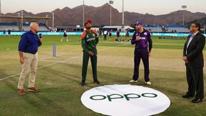Tigers bowl first in T20 WC opener against Scotland
