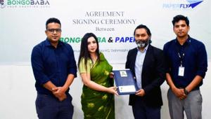 Bangababa signs business deal with Paperfly