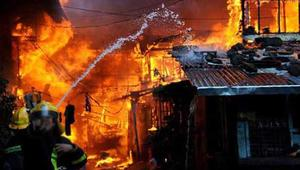 Fire at a furniture godown in Badda, 7 units working to control