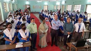 বিশ্ব নাগরিকত্ব শিক্ষার উন্নয়নে রাজশাহীর ২ স্কুলে কর্মশালা