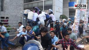 Several injured in Nayapaltan cops, BNP men clash