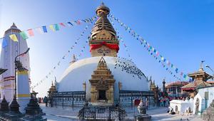 Swayambhu in Himalayan lap