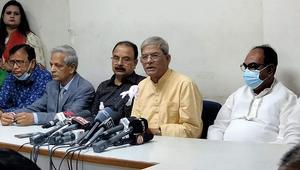 'বিএনপি নেতাদের নির্বাচন থেকে সরানোর ব্যবস্থা করছে সরকার'